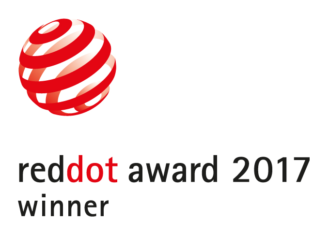 pon media gewann den Red Dot Product Design Award 2017